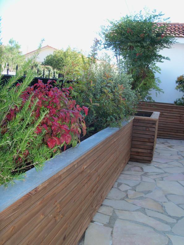 Jardinière brise vue pour habiller une terrasse - Terrasses et ...